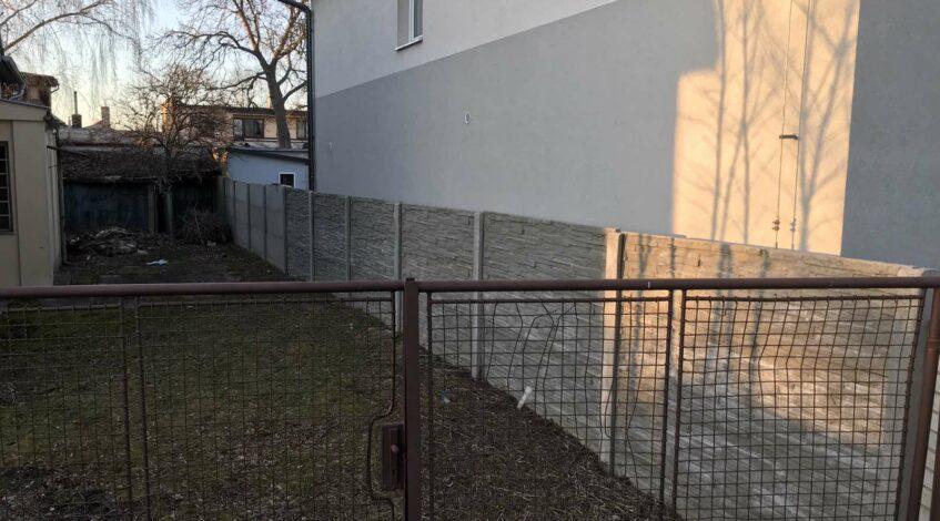Betonový plot Hradec Králové