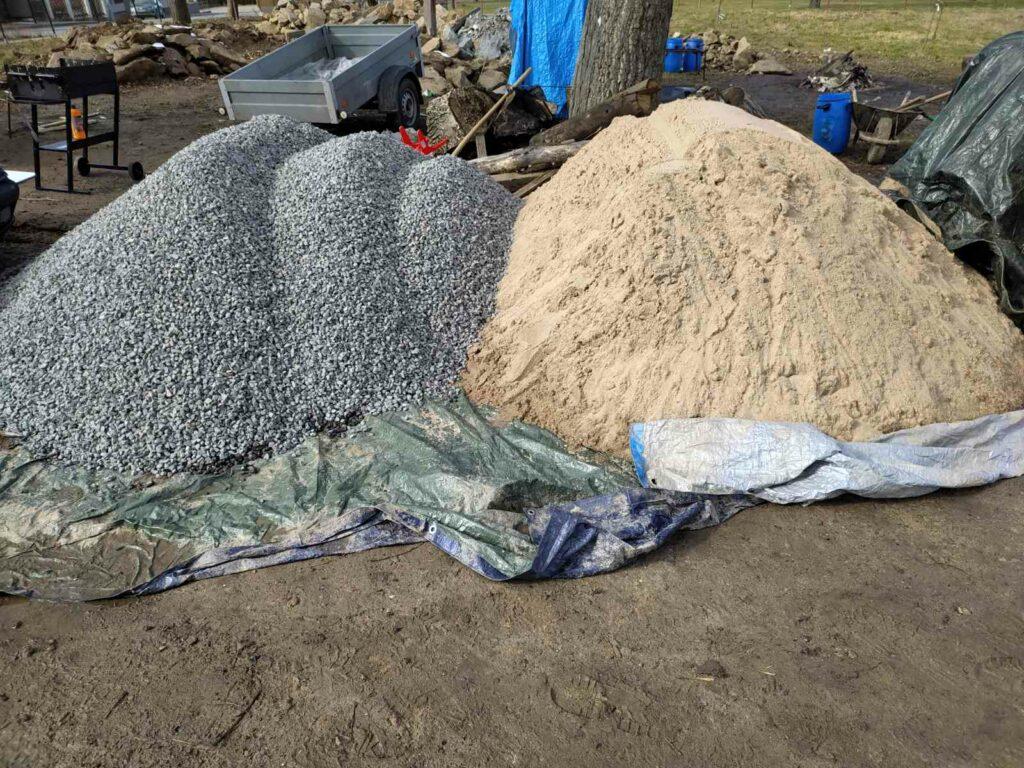 Jemné a hrubé kamenivo do betonu