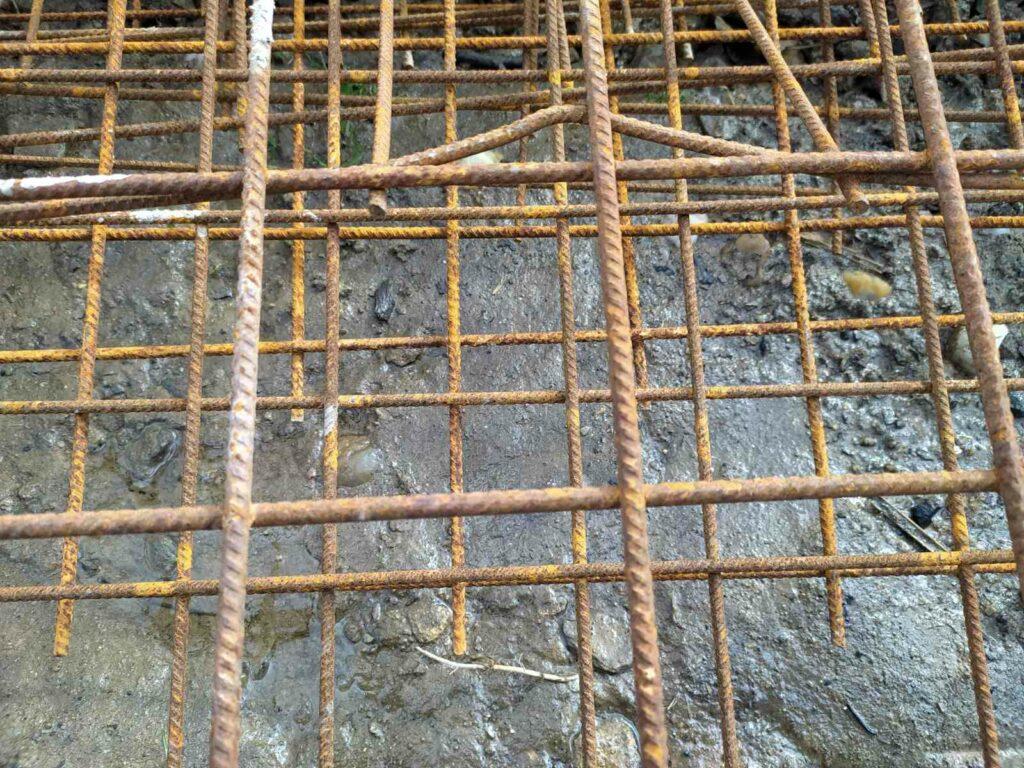 Žebrování betonářské oceli - oceli pro výztuž betonu