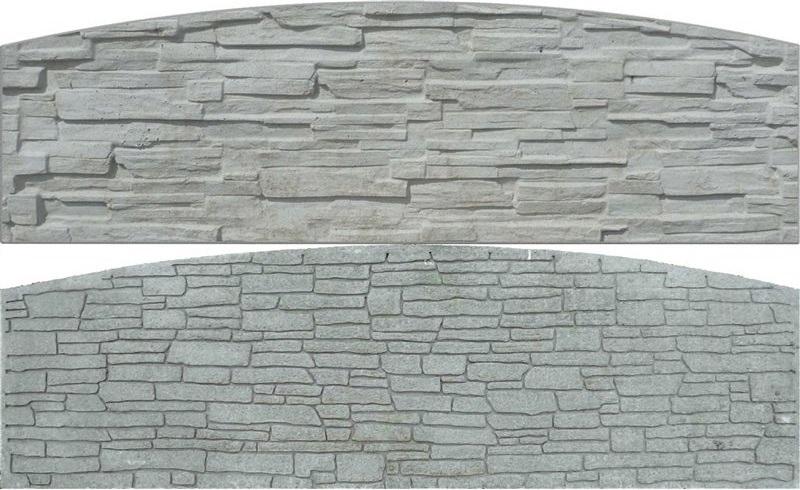 betonová deska pro betonový plot
