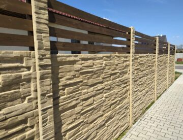 betonový plot na klíč