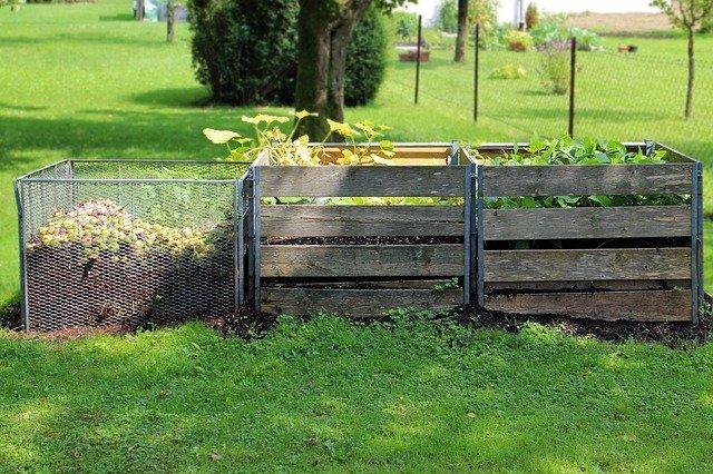Kompostéry ze dřeva